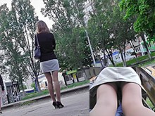 Unique upskirt xxx videos present sweet pussies covered with hot panties from the awesome upskirt porn scenes. Public upskirt views of the unsuspecting young girls and MILFs.