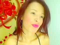 Fabulous webcam Fingering, Shaved movie with LITTLE wild LATINA slut.