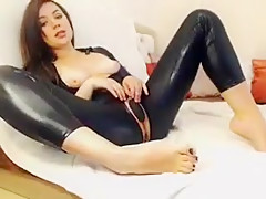 Amazing Amateur clip with Solo, Tight Clothes scenes
