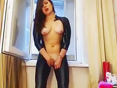 Incredible Amateur record with Solo, Tight Clothes scenes