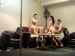 Amazing Amateur record with Group Sex, Hidden Cams scenes