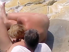 Fabulous Amateur clip with Beach, Nudism scenes