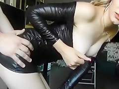 Hottest Amateur video with Blonde, Doggy Style scenes