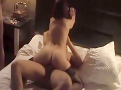 Horny Homemade record with Threesome, Doggy Style scenes