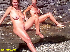 Hottest Homemade record with Beach, Nudism scenes