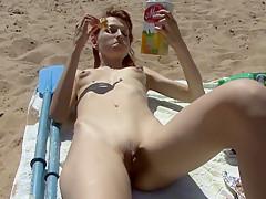 Fabulous Amateur movie with Small Tits, Voyeur scenes