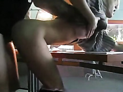 Office Blowjob and Fuck