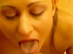 Exotic Homemade movie with Blowjob, Cumshot scenes
