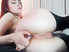 Crazy Amateur movie with Toys, Shaved scenes
