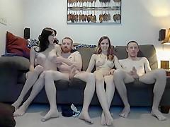 Lesbian strapon orgies
