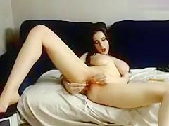 Horny Homemade clip with Toys, Masturbation scenes