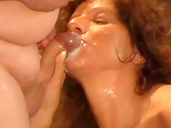 Bukkake Blowjob Party f r Claudi Teil 3