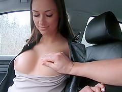 Victoria Sweet in Brunette Gets in a Stranger's Car - StrandedTeens