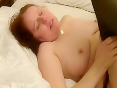 Busty horny MILF fucks on cam