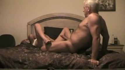 Horny old couple is fucking in the swimming pool.