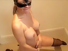 Hot blow to horny fat dick at home