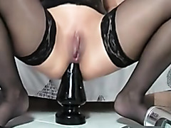 amateur wife anal plug