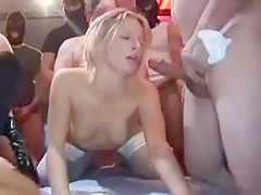 Best Amateur video with Stockings, Gangbang scenes