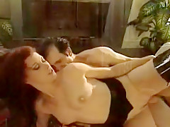 Horny Amateur video with MILF, German scenes