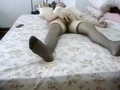 Horny Homemade record with Masturbation, Mature scenes