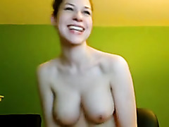 Double toyed on a webcam show