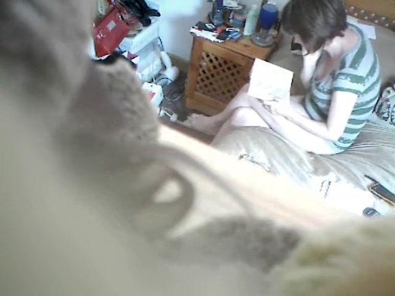 Wife masterbating hidden cam