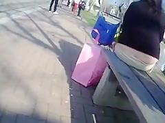 Amazing Amateur clip with Outdoor, Voyeur scenes