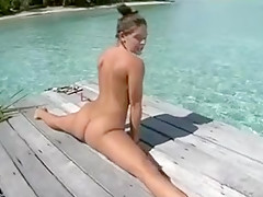 Hottest Amateur movie with Solo, Outdoor scenes