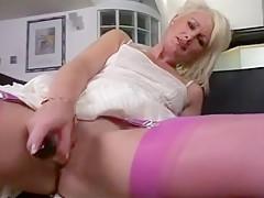 Exotic Amateur video with Blonde, MILF scenes
