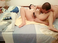 Crazy Homemade record with Couple, Hairy scenes