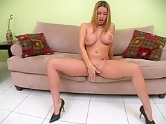 Crazy Homemade movie with Big Tits, Blonde scenes