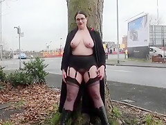 Amazing Homemade clip with Big Tits, Stockings scenes