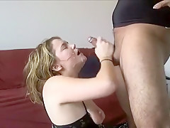 Horny Amateur movie with Deep Throat, Cumshot scenes