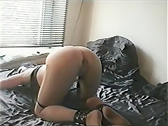 Incredible Amateur video with Ass, Bondage scenes
