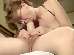 Horny Amateur clip with Blowjob, POV scenes