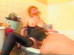Crazy Amateur record with Young/Old, Stockings scenes