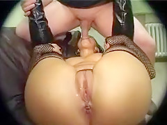 Horny Amateur record with Doggy Style, Stockings scenes