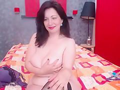 Best homemade Brunette, Mature sex clip