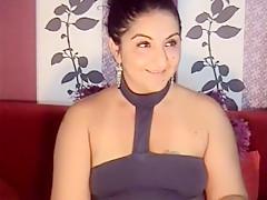 Incredible amateur Webcam, Brunette xxx video