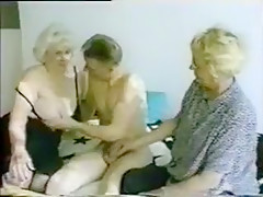Exotic Amateur video with Threesome, Young/Old scenes