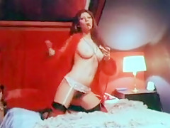 Hottest Homemade record with Stockings, Vintage scenes