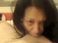 Horny Homemade record with Latina, Blowjob scenes