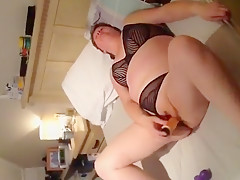 Crazy Homemade video with Masturbation, Brunette scenes