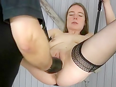 Horny Homemade video with Stockings, Fisting scenes