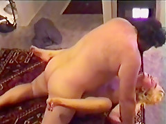 Fabulous Amateur movie with Blonde, Russian scenes