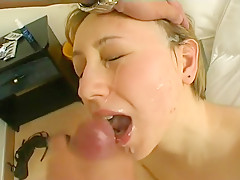 Amazing Amateur clip with Blowjob, Swallow scenes
