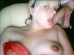 Crazy Homemade clip with Blonde, College scenes