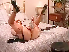 Crazy Amateur record with Toys, Stockings scenes
