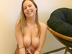 Incredible Homemade movie with Big Tits, Solo scenes