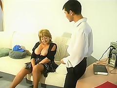 Crazy Amateur movie with Young/Old, Stockings scenes